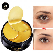 Moisturizing Gold Eye Mask Crystal Collagen Eye Patches for Eye Care Mask Dark Circles Removal Eyelid Patch Anti-Wrinkle Eye Pad