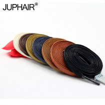 New 1 Pair Length 60-180CM Waxed Cotton Flat Shoelaces Leather Shoes Shoestring Leather Boots Shoe Laces Martin Boots Shoelace