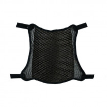 Black Anti-slip Seat Cover Breathable Motorcycle Replacement 3D Mesh Fabric Sunscreen Pad Universal Parts Accessories