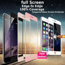 FQYANG Only Black&White 3D Carbon Fiber Tempered Glass for iphone X 5.8 inch Screen Protector film For iPhone 8 7 6 6S Plus