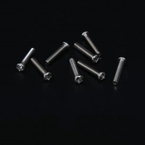 50pcs M2 GB818 Electronic small screw Round head Phillips Pan heads nickel plated screws 2mm-16mm Length