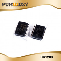 10pcs/lot DK1203 1203 DIP-8 Low  off line switching supply control chip