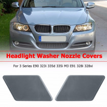 Car Front Left Right Headlight Washer Jet Spray Nozzle Cap Cover for BMW 3 Series E90 323i 335d 335i M3 E91 328i 328xi