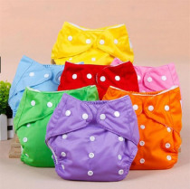 Hot sales! 3pcs Lot Baby Diapers Children Cloth Diaper Reusable Nappies Adjustable Diaper Cover Washable Free Shipping