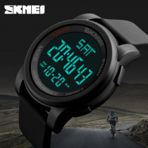 SKMEI Men Military Outdoor Sports Watches Waterproof Relojes Electronic LED Digital Wristwatches Clock Relogio Masculino 1257