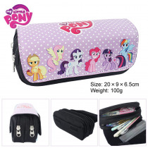 pencil Sale 5 Super Cute Cartoon Rainbow For Pony School Office Pu Large Capacity Pencil Case Stationery Bags Girls Boutique