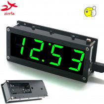 Electronic DIY Kit High precision DS3231 1 inch digital tube Clock Kit  4-digit Display with Case Diy Kit Electronic