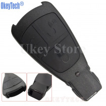 OkeyTech New Design Replacement Key Case for Mercedes Benz Remote Control Key Shell 3 Button Smart Key Fob Cover Free Shipping