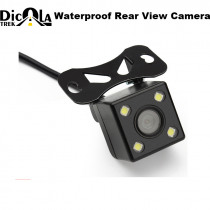 Car Rear View Camera Waterproof HD CCD 4 LED Night Vision Rear View Camera Universal Parking Assistance