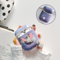 For Airpods Cases Cute Cartoon Dumbo Earphone Case For Apple Airpods Headphone Charging box Accessories bag fashion hard cover