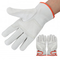 Pair of Anti-Static ESD Sheep Leather Welding Gloves Anti Wear Heat Safety Gloves for rough heavy physical work