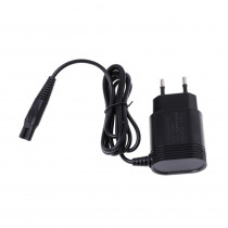 2-Prong Charger EU Plug Power Adapter for PHILIPS Shavers HQ8505/6070/6075/6090