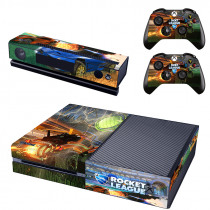 Rocket League Skin Sticker Decal For Microsoft Xbox One Console and 2 Controllers For Xbox One Skins Stickers Vinyl