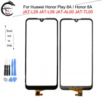 Touch Panel For Huawei Honor 8A Honor8A JAT-AL00 Play 8A JAT-L29 Touch Screen Digitizer Glass Sensor Touchscreen With Flex Cable