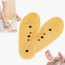 Magnetic Therapy Massager Insoles Promote Blood Circulation Foot Magnet Health Care Shoe Pads For Men Women Wholesale