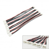 5pcs/lot JST-XH 1S 2S 3S 4S 5S 6S 20cm 22AWG Lipo Balance Wire Extension Charged Cable Lead Cord for RC Lipo Battery charger