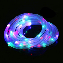 Solar Powered Rope Garden Lights Waterproof Led String Light Outdoor Fairy Lights 12M 100LED 7M 50 LED Lawn Lamp Christmas Decor