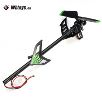 WLtoys V912 Brush RC Helicopter Spare Parts Tail Motor Set for RC Models High Quality Accessories Accs
