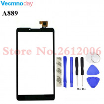 Vecmnoday 6.0 inch new touch screen digitizer touch panel touchscreen for Lenovo A889 Black or white+tools