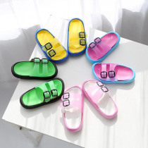 summer Children Slippers For Boys Girls Beach Sandals Baby House Slippers Home Flat Flip Flop kids Non-slip Korea Casual Shoes