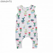 Toddler Baby Boys Girls Bodysuit Jumpsuit Playsuit Outfits Clothing Set Infant Newborn Girl Boy Print Casual Bodysuits Clothing