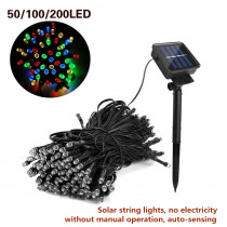 Solar Led String Lights 7M/12M/22M LED Outdoor Solar Lamp Fairy Holiday Christmas Party Garlands Solar Garden Waterproof Lights