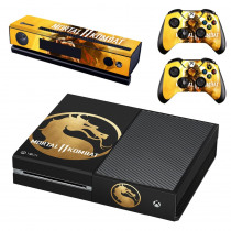 Mortal Kombat 11 Skin Sticker Decal For Microsoft Xbox One Console and 2 Controllers For Xbox One Skin Sticker Vinyl