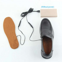USB Electric Heated Insoles Shoes Boots Foot Feet Warmer Pad Cushion LBY2018