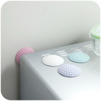 3pcs!High quality anti-collision cushion rubber mat protective doorknob lock viscose  pad home accessories.