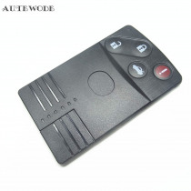 AUTEWODE Replacement 4 BUTTONS Car  Key Case Cover Shell fit for  MAZDA 5 6 CX-7 CX-9 Miata Remote Smart Card Key 1 pc