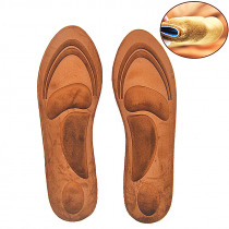 1 Pair Memory Foam Orthotic Insole Arch Support Orthopedic Insoles For Sport Shoe Flat Foot Feet Care Sole Shoe Orthopedic Pads