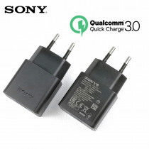 Original sony xperia xz Fast Charger qc 3.0 quick charge usb wall power adapter for xa1 xa2 XZs XC XZp XZ1 XZ1C mobile phone