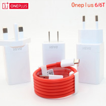 Original EU US UK ONEPLUS 7 Dash charger One plus 6T Smartphone 5V/4A Fast charge USB wall power Adapter,2M Dash Charger Cable