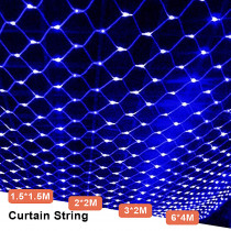 LED Fairy Lights Outdoor Garden String Lights Holiday Garland For Decoration LED Chain Holiday Patio Lighting 220V Net Mesh Lamp