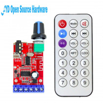 1pcs OE-BT full function Bluetooth power amplifier board Digital module Remote MP3 decoding audio receiver