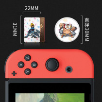 The Games card of amiibo Compatible Zelda 23 NFC Round Card 20 Heart Wolf the Legend of Breath of the wild NS Nintend Switch