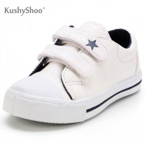 KushyShoo Baby Sneakers Toddler Children Boys Girls Shoes Blue Dinosaur Double Hook Boys Shoes Kid Shoes Toddler Boy Shoes