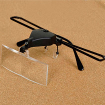 Magnifying Glass Reading Eye Repair Magnifier LED Light 1.5/2.5/3.5 With 3pc Glasses Loupe Optical Lens