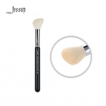 Jessup High Quality Materials Professional Face brush Makeup brushes Tools Beauty Foundation Brushes Large angled contour 168