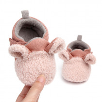Infant Cartoon Non-slip Animal Style Baby Boots Newborn Baby Boys Girls Crib Shoes With Cute Ears Baby Moccasins