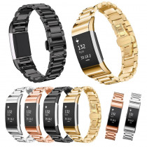 for Fitbit Charge 2 Band Strap Replacement Wrist Bracelet Stainless Steel for Fit Charge2 Smart Watch Small AW829