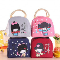 Fashion Lunch Bag For Women Kids Men Insulated Canvas Box Tote Bag Thermal Cooler Food Lunch Bags Picnic Food Bag fashion