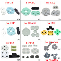 YuXi Conductive Rubber Contact Pad Button A-B D-pad  for Xbox 360 One GB GBC GBA GBP ps2 ps3 ps4 Controllers Replacement part