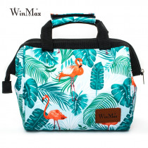 Winmax Brand Women Men Fashion Icepack Container Thermal Insulated Food Picnic Cooler Lunch Bags for Kids Tote Portable Lunchbox