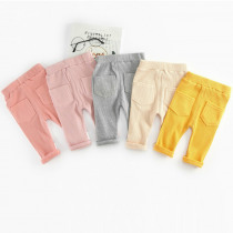 Casual Newborn Baby Boys Girls Pants For 0-3T Cotton Autumn Newborn Pants Baby Trousers For Toddler Unisex Boy Leggings Winter