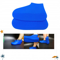 1 Pair Elastic Stretch Outdoor Waterproof Overshoes Climbing Protector Anti Slip Camping Silicone Shoe Covers Rain Boots #137