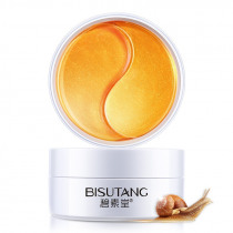 Gold Snail Collagen Eye Patch Moisturizing Remove Dark Circles Anti-Puffiness Anti-Wrinkles Gel Eye Pads