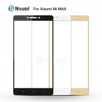 Tempered Glass For Xiaomi Max/Xiaomi Mi Max Mobile Phone 6.44 Inch Safety Full Cover Screen Protector Full Screen Film Glass
