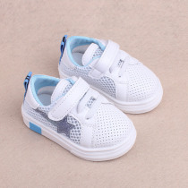 Children Sneakers Kids Baby Girls Summer Shoes Infant Soft Bottom Non-Slip Hollow Mesh Sports Shoes Baby Boys Breathable Sneaker