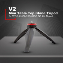 "FeiyuTech V2 Mini Photography Table Top Bracket Tripod for FeiyuTech WG2 A1000/2000 SPG G5 Series Stabilizer with 1/4"" Thread"